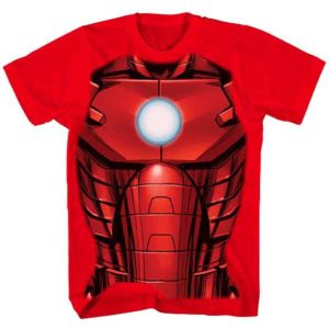 Youth Iron Man Armor T-Shirt
