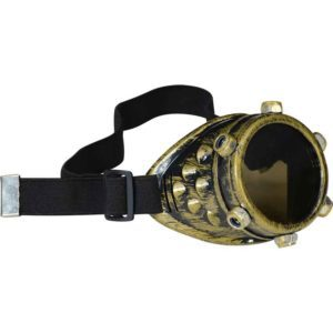 Studded Steampunk Single Goggle