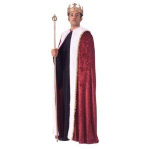 Kings Velvet Costume Robe