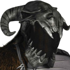 Adult Ares Latex Overhead Mask