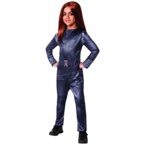 Girls Winter Soldier Black Widow Costume