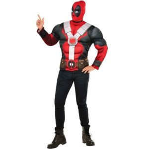 Adult Deadpool Deluxe Costume Set