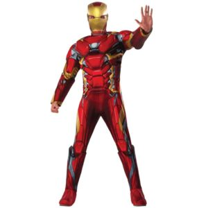Adult Marvel Civil War Deluxe Iron Man Costume