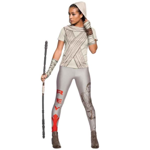 Adult Rey Hooded Rhinestone Costume Top