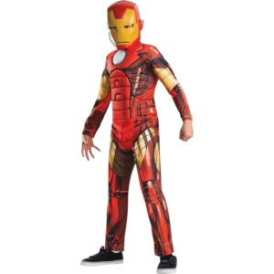 Kids Avengers Assemble Deluxe Iron Man Costume