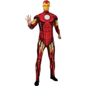Adult Marvel Deluxe Iron Man Costume