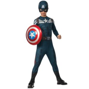 Stealth Captain America Kids Costume