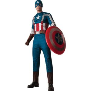 Adult Deluxe Retro Captain America Costume
