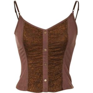 Lacy Steampunk Corset Top