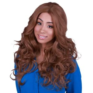 Lace Front Royale Caramel Brown Wig