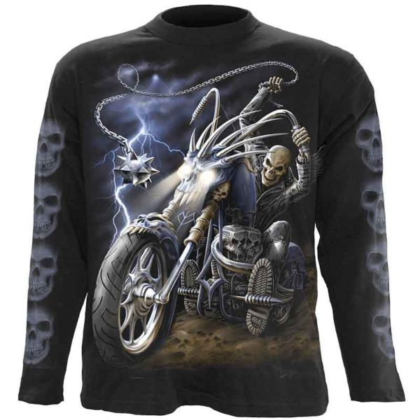 Ride to Hell Mens Long Sleeve T-Shirt