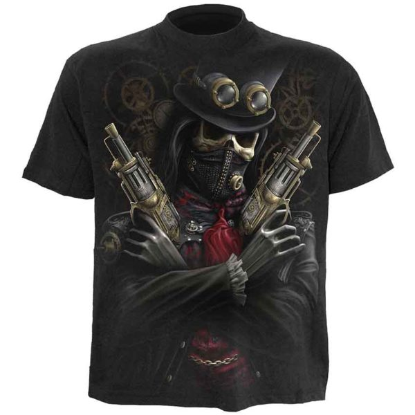 Steampunk Bandit Mens T-Shirt