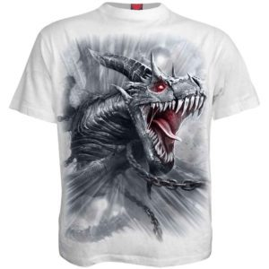 Dragons Cry White T-Shirt