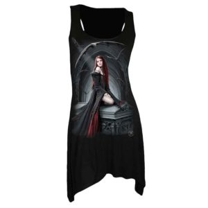 Await the Night Gothic Womens Dress