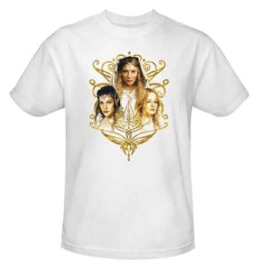 Women Of Middle Earth T-Shirt