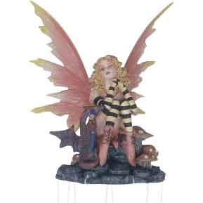 Fairy and Dragon Wind Chime