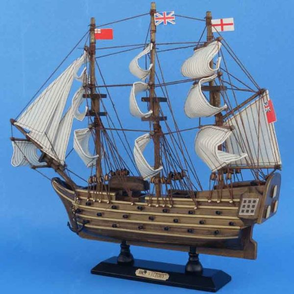 14 Inch HMS Victory Model Ship