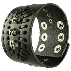 Pirate Leather Bracelet