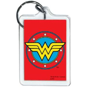 Wonder Woman Emblem Keychain