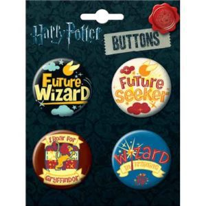 Hogwarts School Spirit Button Set