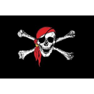 Red Bandana Jolly Roger