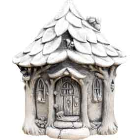 Critter Cottage Statue
