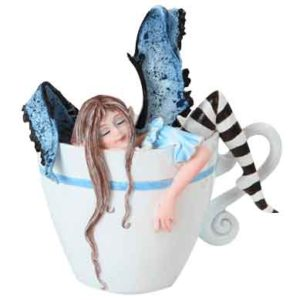 Need Coffee Snoozing Fairy by Amy Brown