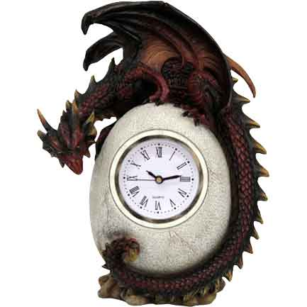 Dragon Egg Desk Clock