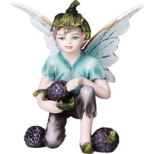 Berry Fairy Boy Statue