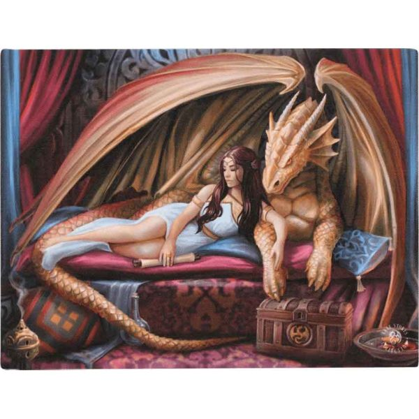Inner Sanctum Canvas Print by Anne Stokes