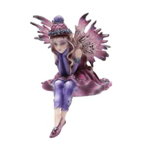Thoughtful Fairy Sitter Statue