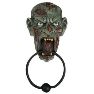 Hungry Zombie Door Knocker