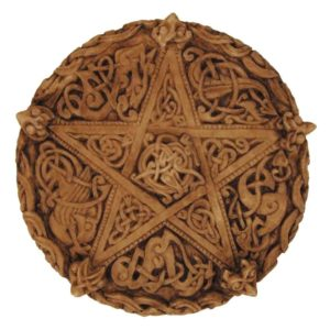 Celtic Knotwork Pentacle Plaque