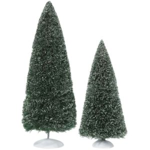 Frosted Pine Trees - Village Landscapes and Trees by Department 56