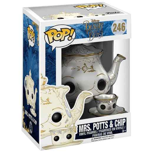 Beauty and the Beast Mrs Potts and Chip POP Figure