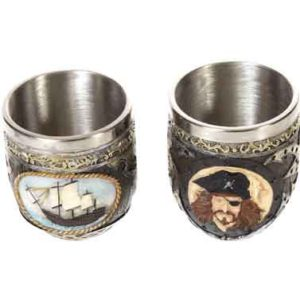 Pirate Drinking Cups
