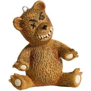 Teddy Bear Horror Ornament