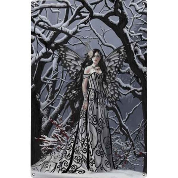 Heart of Ice Metal Fairy Sign