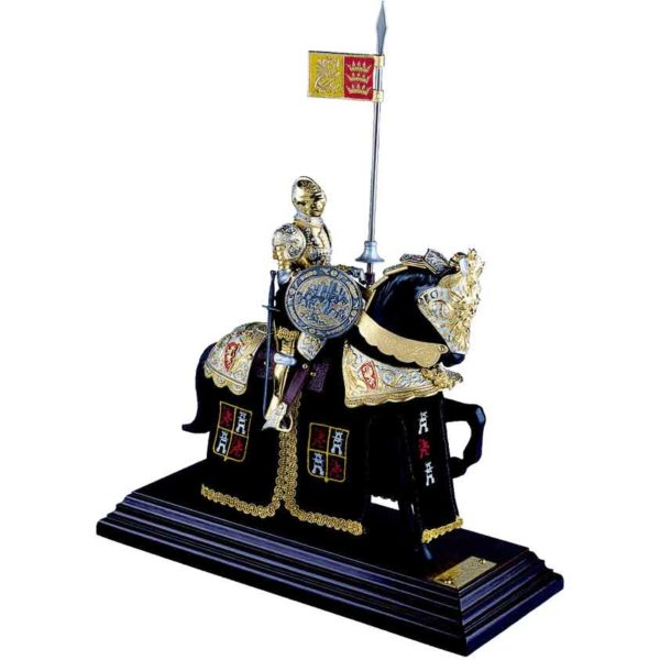 Mounted English Knight of King Arthur Statue by Marto