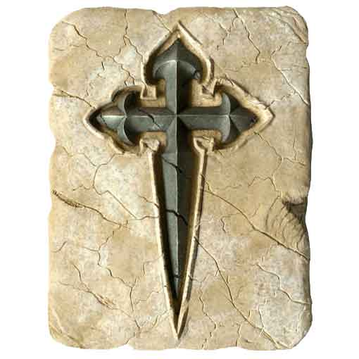 Templar Cross of Santiago by Marto