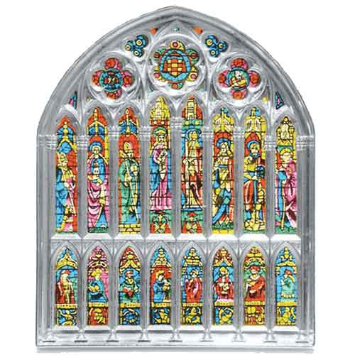 Silver Stained Glass Window by Marto