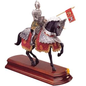 Spanish Knight on Horseback