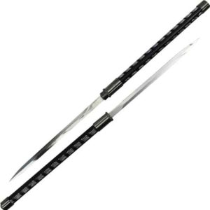 Interlocking Black Double Short Sword