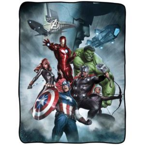 Avengers with Loki Fleece Blanket