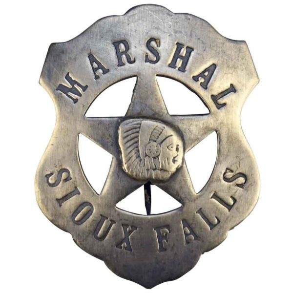 Sioux Falls Marshal Badge