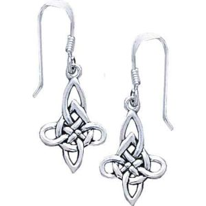 Eternal Celtic Knotwork Earrings
