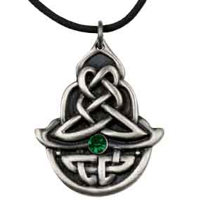 Celtic Emerald Necklace