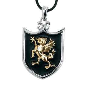 Dragon Shield Necklace