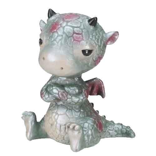 Sulky Dragonling Statue