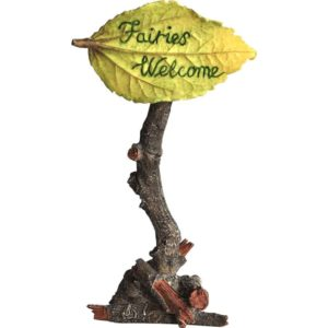 Fairies Welcome Fairy Garden Sign